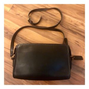 Vintage Coach Crossbody, Taylor Bag, Made in USA